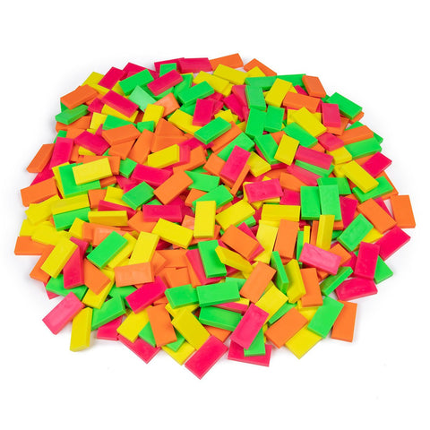 Image of Bulk Dominoes - Neon Mixed