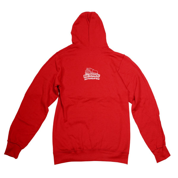 Bulk Dominoes - Red Tech Hoodie
