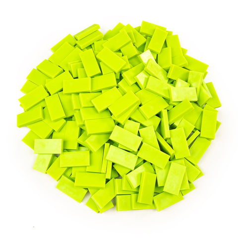 Bulk Dominoes - Sour Apple Green