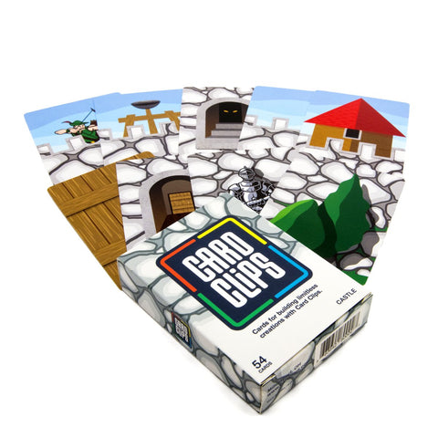 Image of Building Cards - Castle Building