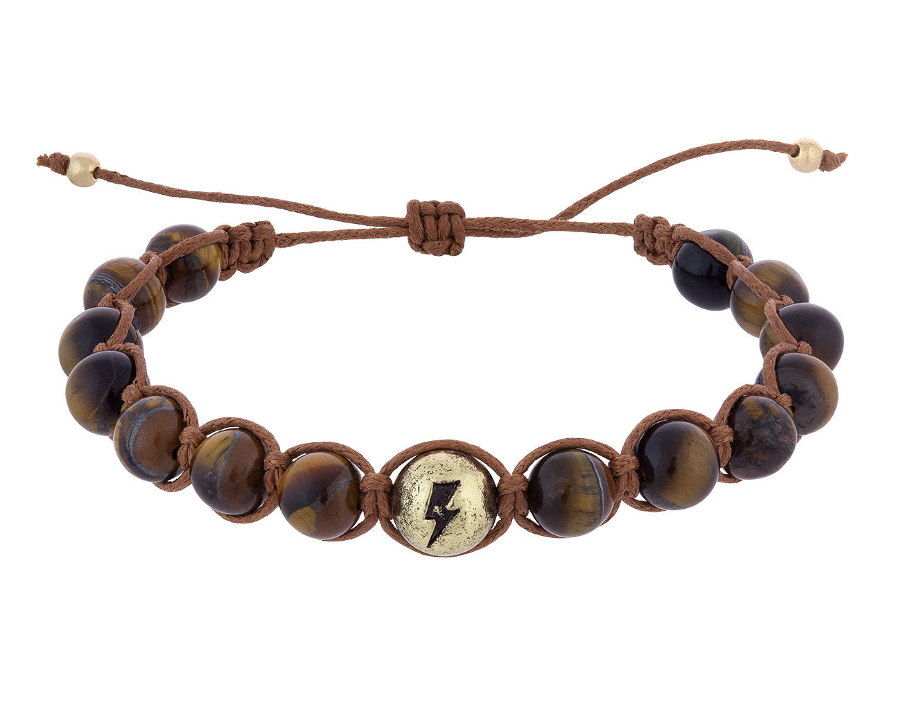 Tiger's Eye Stone Bracelet – Lightning