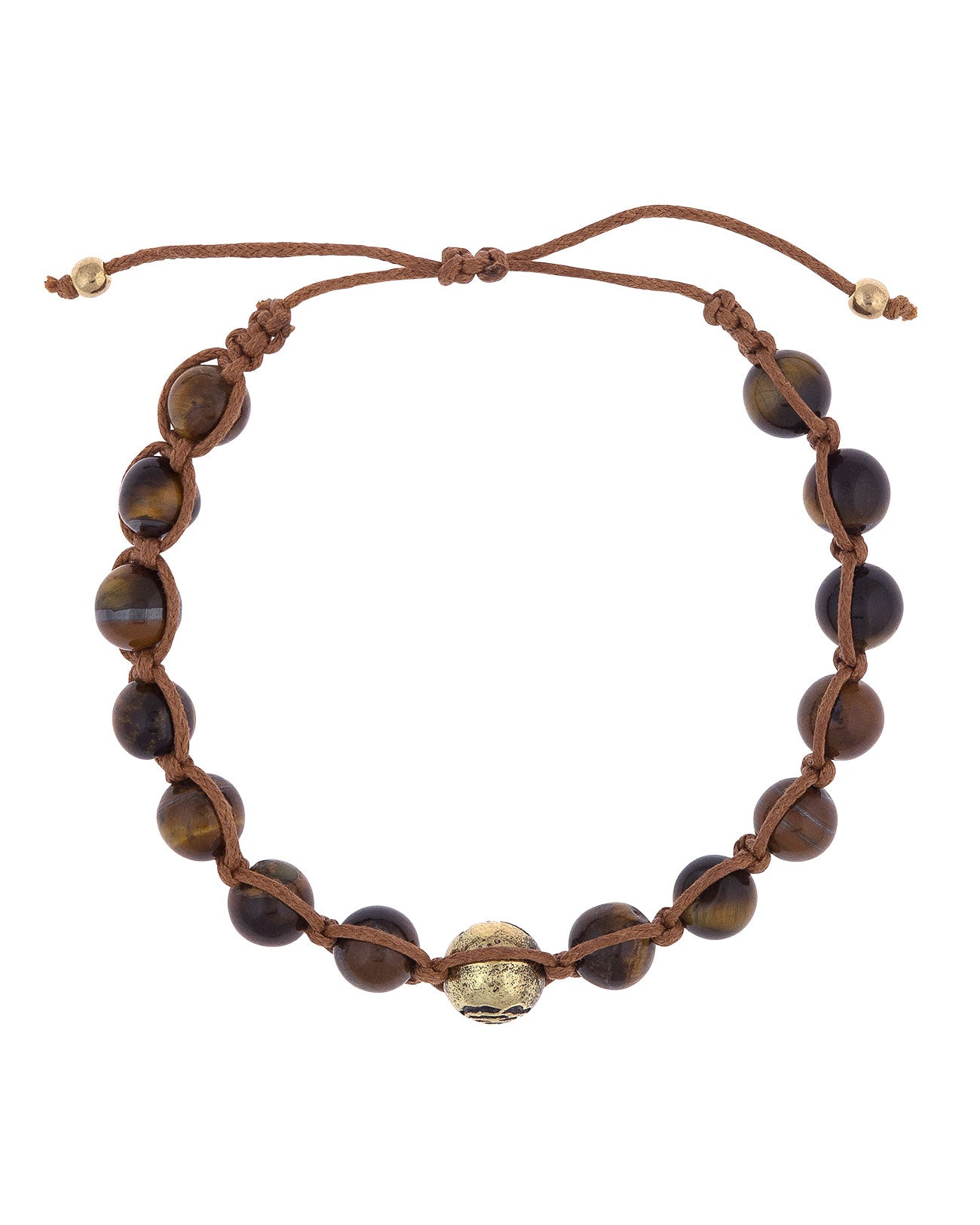Tiger's Eye Stone Bracelet – Rose