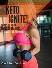 Load image into Gallery viewer, KETO IGNITE! 7 Days of Keto. 7 Days of Training.