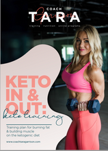Load image into Gallery viewer, 8-Week Keto In & Out Training Plan: Keto Training | Low Carb Training