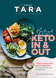 8-Week Keto In & Out Meal Plan | 4 Weeks Keto | 4 Weeks Low Carb