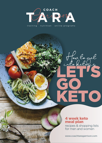 4-Week Keto Meal Plan WITH TRAINING!