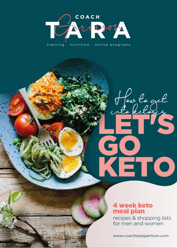 4-Week Keto Meal Plan
