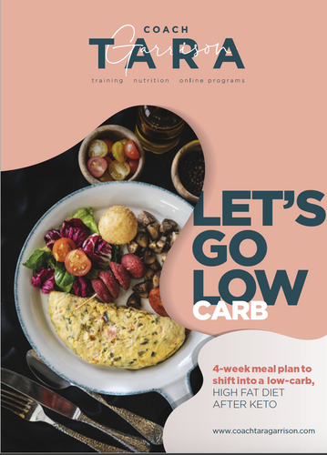 4-Week Low Carb Meal Plan WITH TRAINING!
