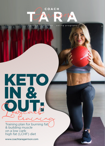 8-Week Keto In & Out Training Plan: Keto Training | Low Carb Training