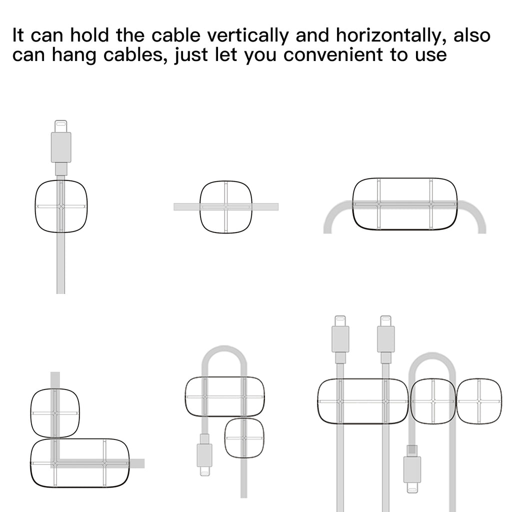 Baseus Cable Organizer Flexible Silicone USB Cable Winder ... on cat 5 wiring diagram, cable wire light, fence diagram, cable specification, cable connectors, garage door opener diagram, auto parts diagram, batteries diagram, cable cord, car amp wiring diagram, electric motors diagram, cable wire wiring, air conditioning diagram, cable plug, home theater wiring diagram, cable wire layout,