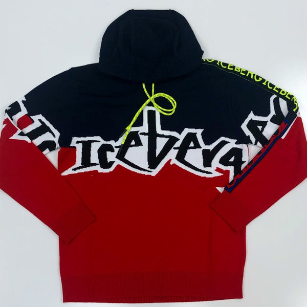 Iceberg- graffiti hooded sweatshirt