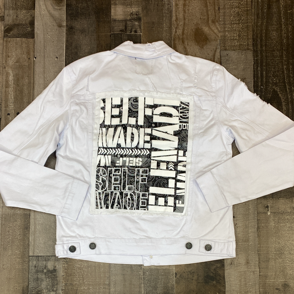 Spark- self made bandana jacket (white)