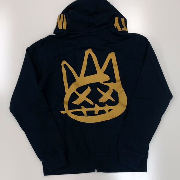 Cult Of Individuality- logo full zip hoody
