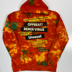 Offbeat- fashion fleece l/s hoodie