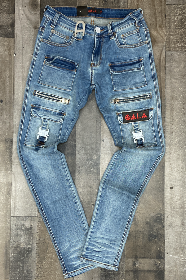 Gala- Stash stone wash jeans