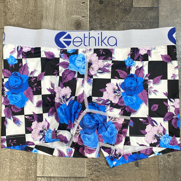 Ethika- Hightop Bloom boy shorts (women)