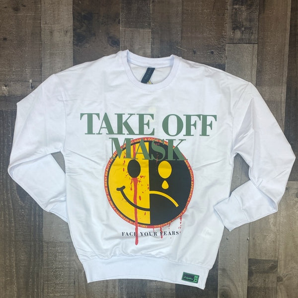 Plus Eighteen- take off sweater (white)