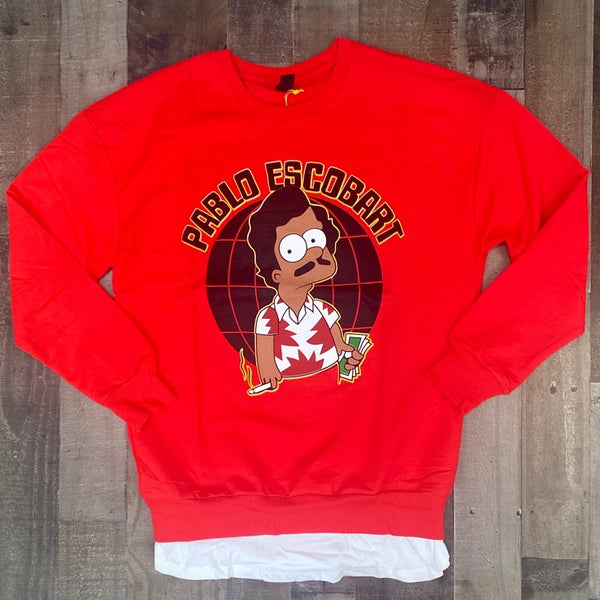 Plus Eighteen- pablo escobart sweater