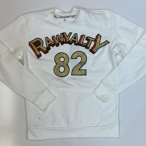 Rawyalty- studded rawyalty 82 sweatshirt