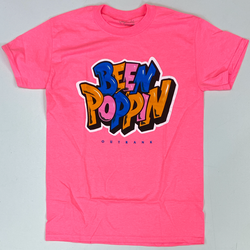 Outrank- been poppin ss tee (pink)