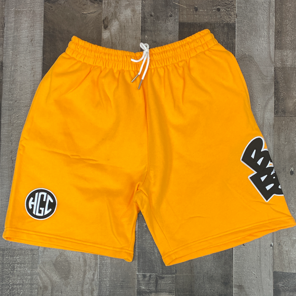 Headgear Classics- badboy cotton sweat shorts (yellow)