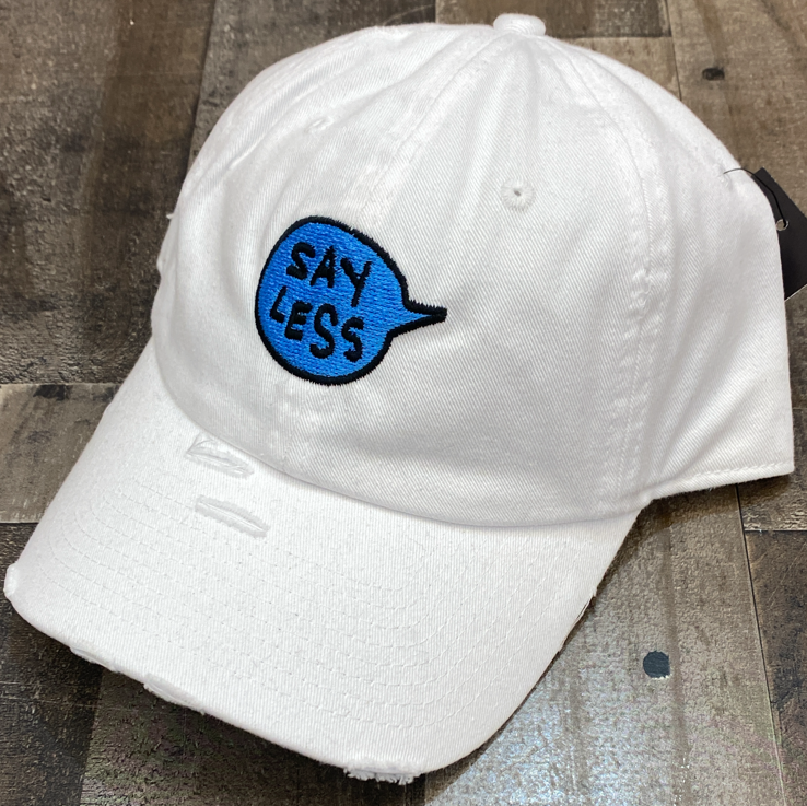 Outrank- say less dad hat