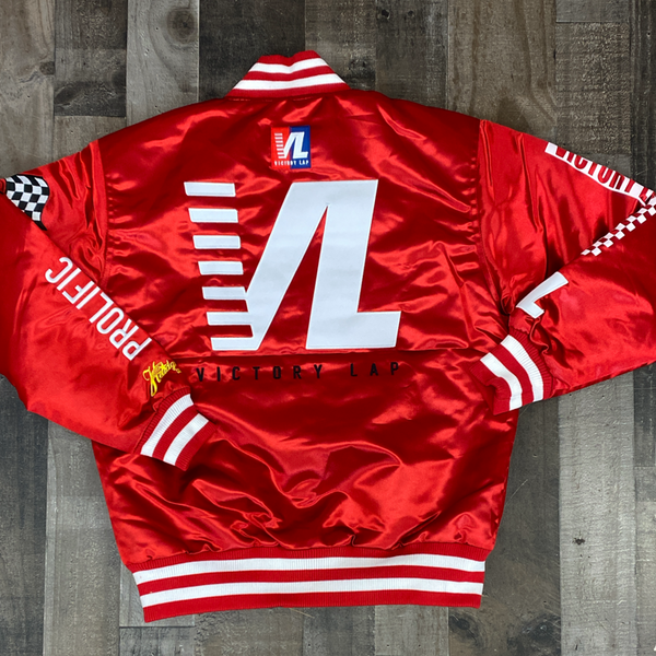 Headgear Classics- Crenshaw satin jacket (red)