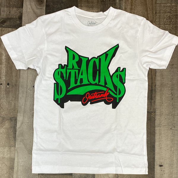 Outrank- rack stacks ss tee