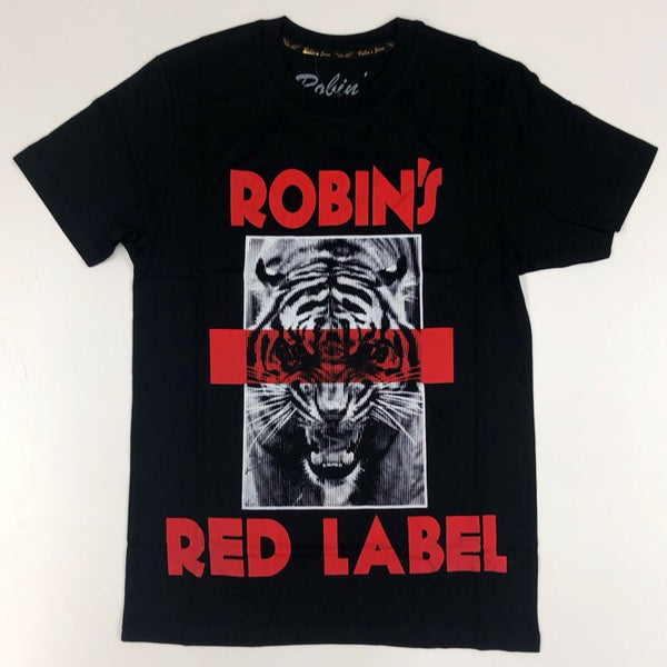 Robins Jean- red tiger ss tee