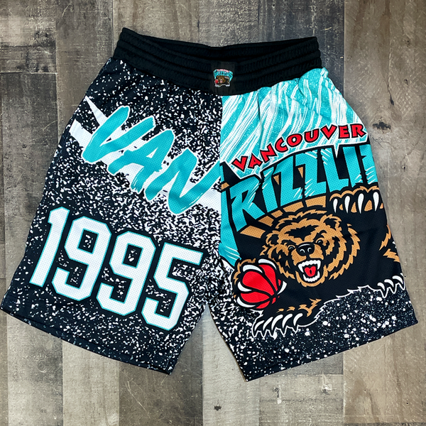 Mitchell & Ness- grizzlies nba shorts