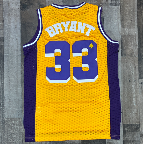 Headgear Classics- Kobe yellow/purple jersey