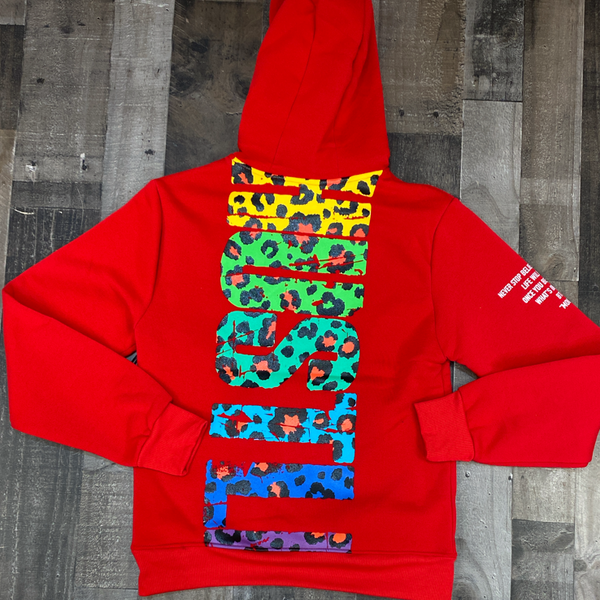Switch- always hustle hoodie (red)