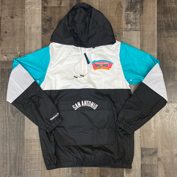 Mitchell & Ness- San Antonio Spurs windbreaker