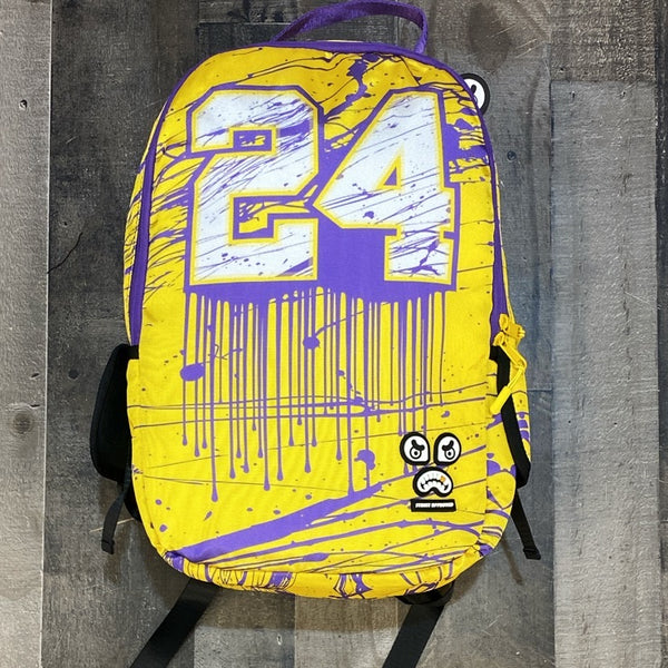 Street Approved- los angeles lakers backpack