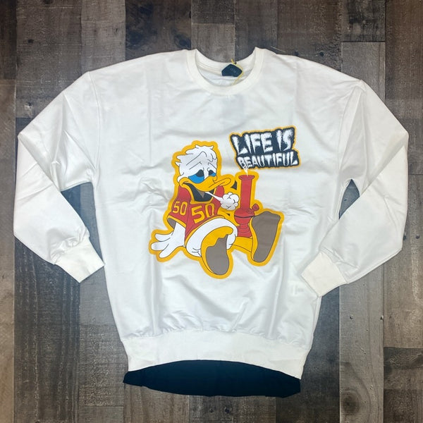 Plus Eighteen- Donald Duck sweater (white)