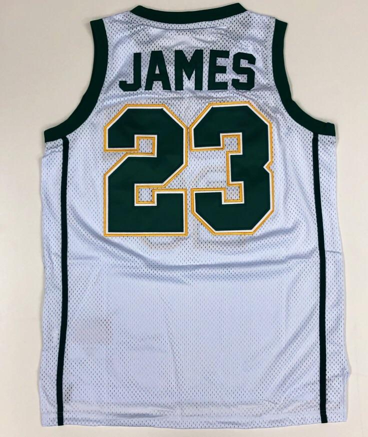 Headgear Classics- James hs basketball jersey