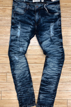 Evolution- s.blue washed denim jeans