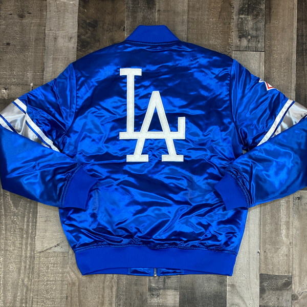 Mitchell & Ness- MLB heavyweight satin jacket Los Angeles Dodgers
