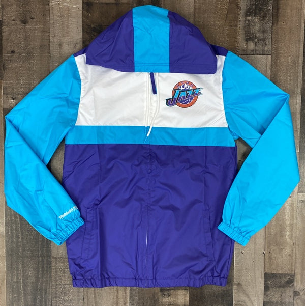 Mitchell & Ness- Utah jazz windbreaker