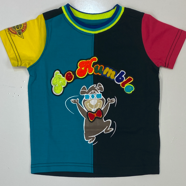 Elite- be humble ss tee turquoise/black (kids)