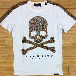 Eternity-snack skin Skelton head ss tee