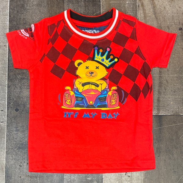 Elite- it's my day ss tee (red)(kids)