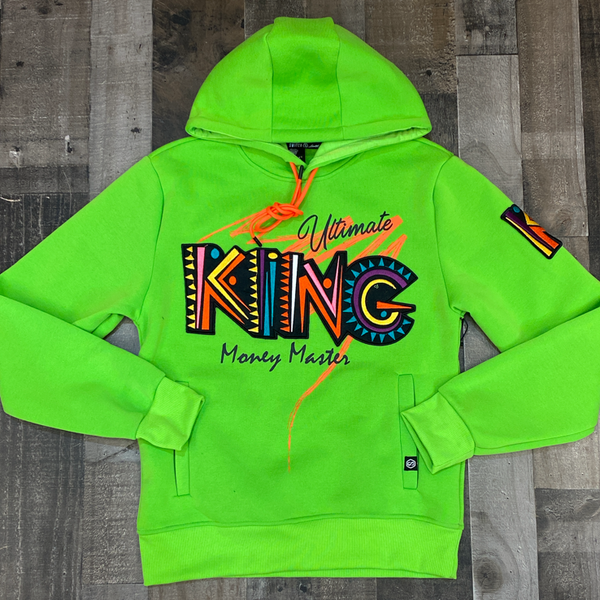 Switch- king hoodie (green)