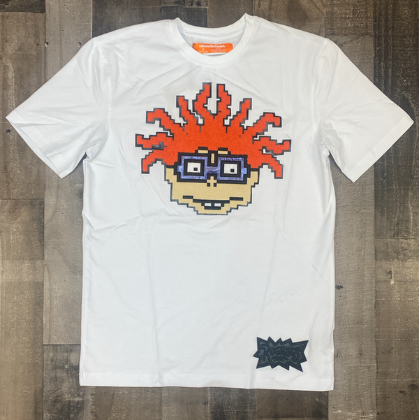 Freeze Max- chuckie face ss tee (white)