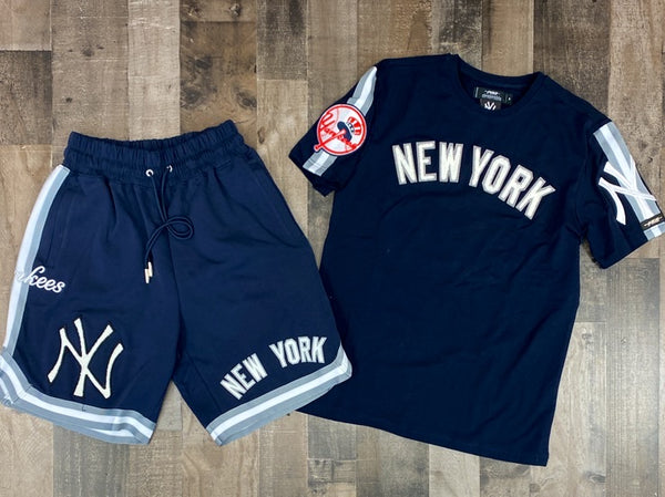 Pro max- new york yankees shorts sets