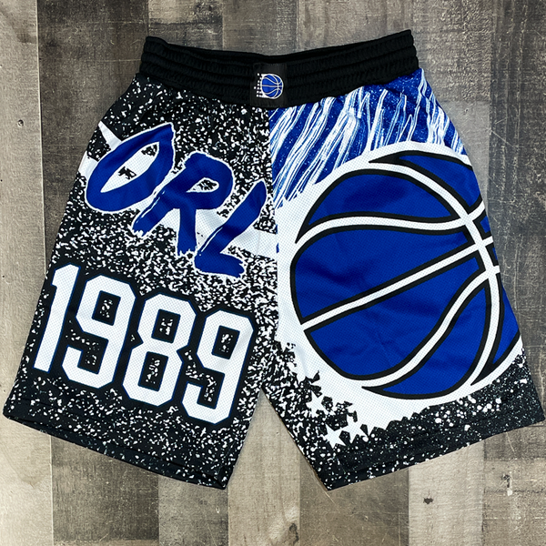Mitchell & Ness- magic nba shorts