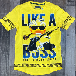 Hard Soda- like a boss studded ss tee