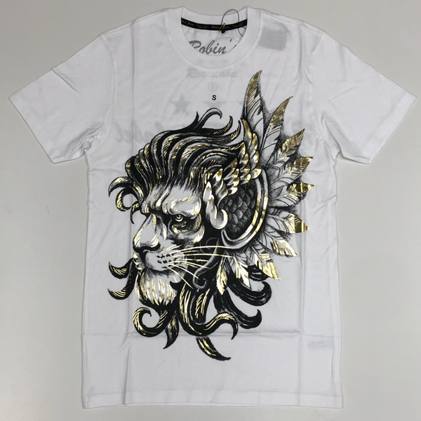 Robins Jean- flying lion ss tee
