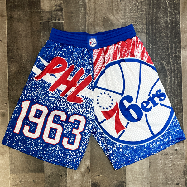 Mitchell & Ness- 76ers nba shorts
