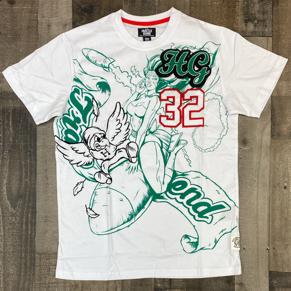 Hustle gang- rocket blast ss tee